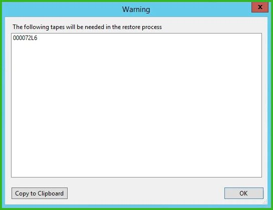 Exchange Restore From Tape With Veeam - Nathan Oldfield
