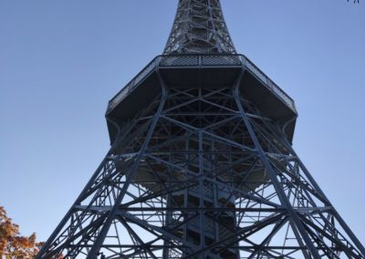 Petrin tower - only 299 stairs :-)