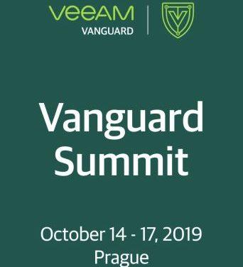 Veeam Vanguard Summit 2019