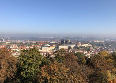 View to Prague Castle