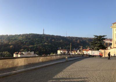 Petřín Lookout Tower (our next stop)